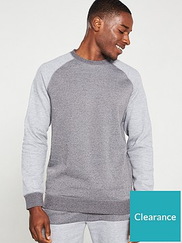 very-man-contrast-raglan-crew-sweat-greycharcoal