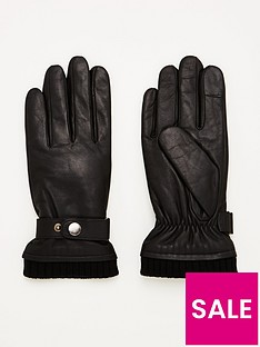 v-by-very-strapped-leather-gloves-black