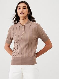 v-by-very-knitted-polo-top-camel