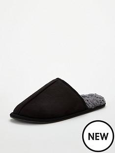 v-by-very-mule-slipper-black
