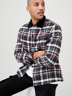 v-by-very-long-sleeved-checked-overshirt-multiple-colours