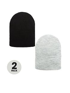 v-by-very-2-pack-slouch-beanies-navygrey-marl