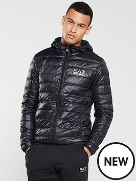 5174813e8 EA7 Emporio Armani Core Id Hooded Padded Jacket