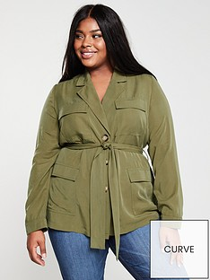 v-by-very-curve-utility-shacketnbsp--khaki