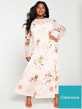 v-by-very-curve-floral-mesh-print-maxi-dress-floral-print