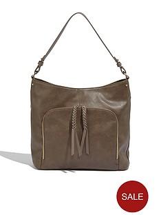 oasis-penny-ring-detail-shoulder-bag-mid-grey