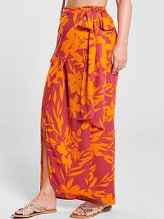 kate-wright-side-tie-maxi-skirt-floral-print