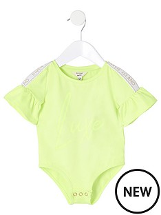 river-island-mini-mini-girls-ri-active-bodysuit-neon-green