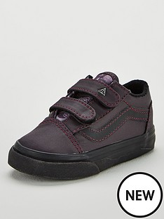 8100e1d06e Vans Vans Harry Potter Deathly Hallows Old Skool Velcro Toddler