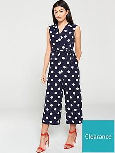 ax-paris-polka-dot-jumpsuit-navy-white