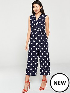 ax-paris-polka-dot-jumpsuit-navy-white