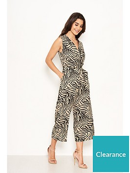 ax-paris-animal-print-jumpsuit-khaki