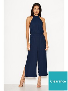 ax-paris-button-side-split-jumpsuit-navy