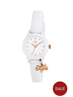 radley-radley-white-and-gold-dog-charm-dial-white-silicone-strap-ladies-watch