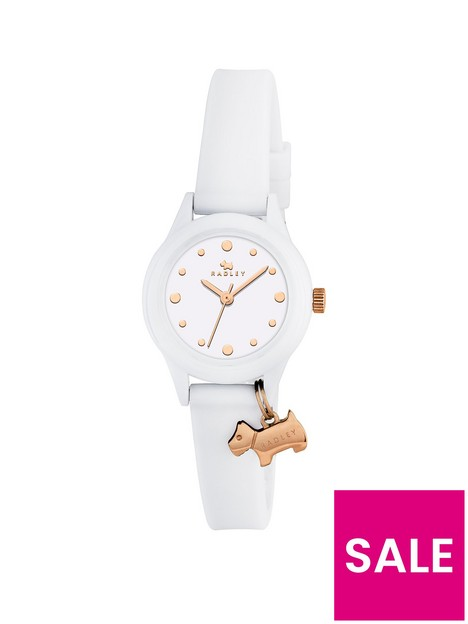 radley-white-and-gold-dog-charm-dial-white-silicone-strap-ladies-watch