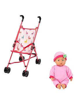 cosatto-comet-buggy-and-doll-set