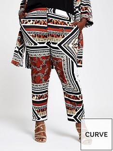 ri-plus-printed-tapered-trouser