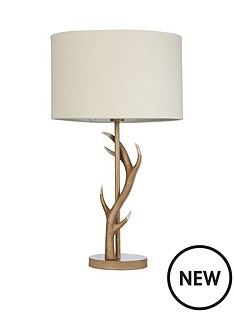 antler-table-lamp