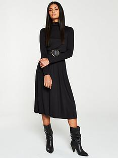v-by-very-roll-neck-midi-dress-black