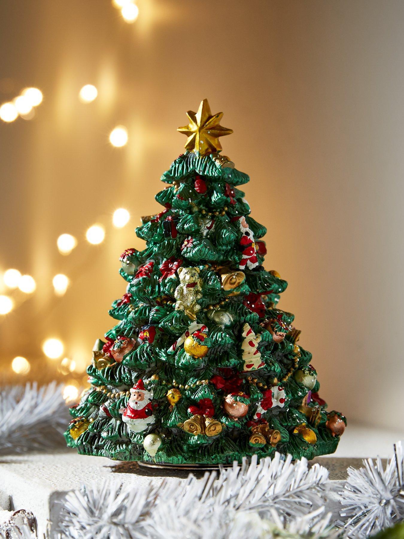 Gisela Graham Resin Big Ben Christmas Tree Decoration