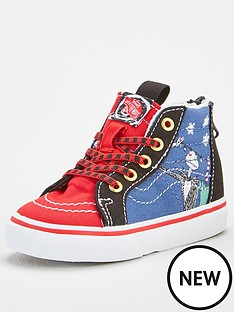 vans-vans-toddler-sk8-hi-zip-nightmare-before-christmas-christmas-town