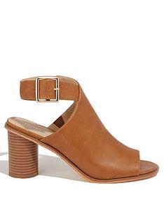 oasis-felicity-woven-peep-toe-boots-tan