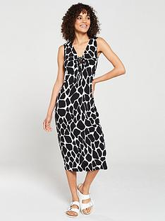 v-by-very-jersey-midi-dress-blackwhite