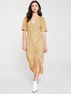 miss-selfridge-cheetah-midi-tea-dress-animal-print