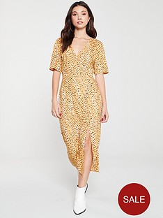 miss-selfridge-cheetah-midi-tea-dress-animal-print