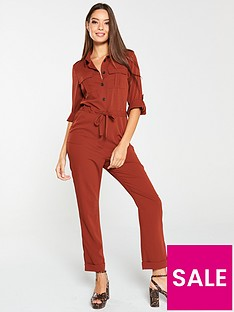 v-by-very-casual-utility-jumpsuit-spice