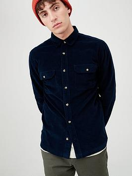 very-man-long-sleeved-cord-shirt-dark-indigo