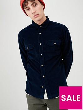 very-man-long-sleeved-cord-shirt-dark-indigo