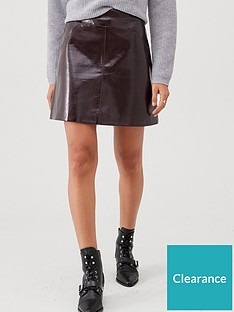 whistles-patent-a-line-skirt-burgundy
