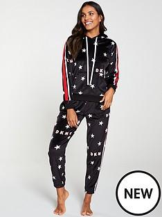 dkny-urban-star-pyjama-jogger-black