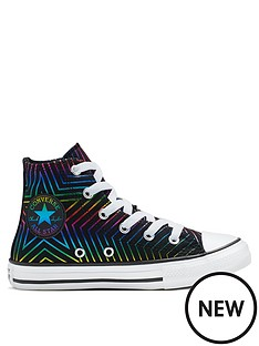 90b6129f0661 Converse Chuck Taylor All Star All Of The Stars Trainers - Black/White/Pink