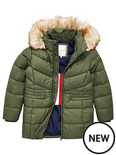 tommy-hilfiger-girls-longline-padded-down-coat-khaki