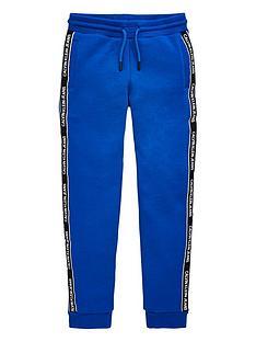 calvin-klein-jeans-boys-logo-taped-sweat-pants-royal-blue