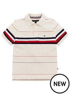 tommy-hilfiger-boys-global-stripe-short-sleeve-polo-shirt-cream