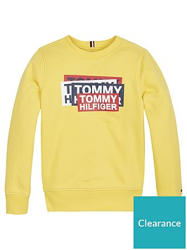 tommy-hilfiger-boys-gaming-crew-neck-sweat-yellow