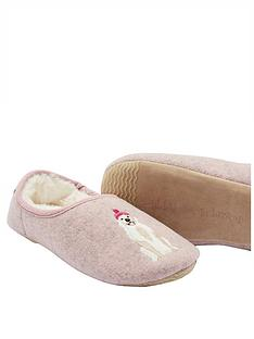 joules-slippetnbspslip-on-mules--nbspgold-dog
