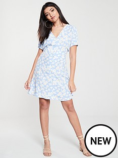 warehouse-daisy-tea-dress-blueprint