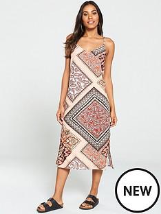 warehouse-paisley-cami-midi-dress-multi