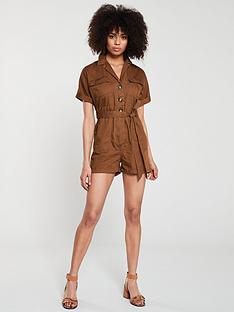 river-island-safari-playsuit--khaki