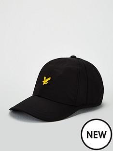 lyle-scott-lightweight-golf-cap-black-black