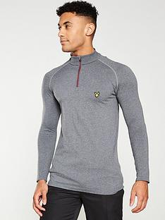 lyle-scott-golf-seamless-mid-layer-top-thunder-grey