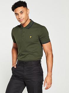 lyle-scott-golf-tipped-polo-shirt-deep-spruce