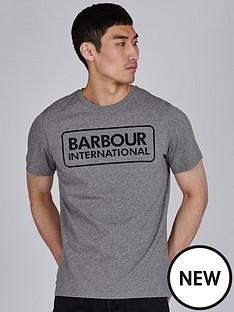 barbour-international-essential-large-logo-t-shirt-grey