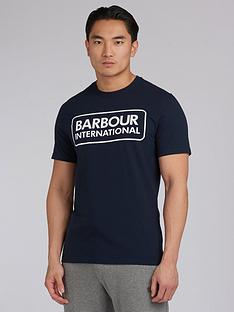 barbour-international-essential-large-logo-t-shirt-navy