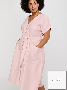 monsoon-curve-loretta-linen-dress