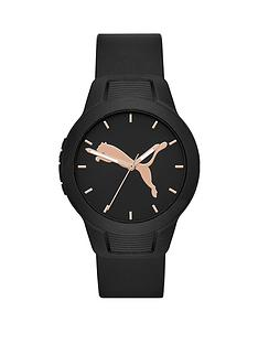 puma-puma-reset-black-and-rose-gold-detail-dial-black-silicone-strap-ladies-watch